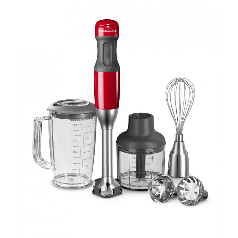 KitchenAid 5 Hızlı El Blender Seti -  Empire Red - 5KHB2571EER